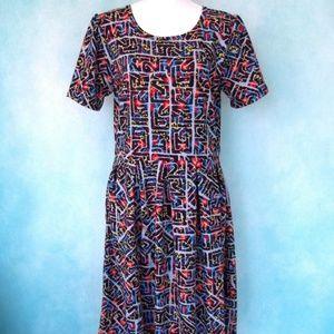 NWOT LulaRoe Amelia Dress Size 2XL